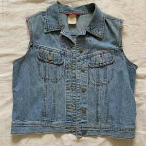 Vintage E-Spirit jean vest